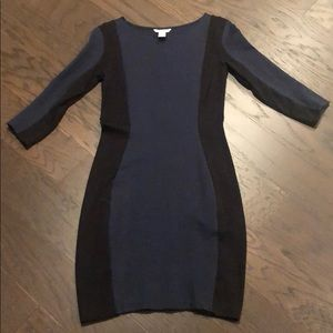 Colorblock fitted dress from H&M